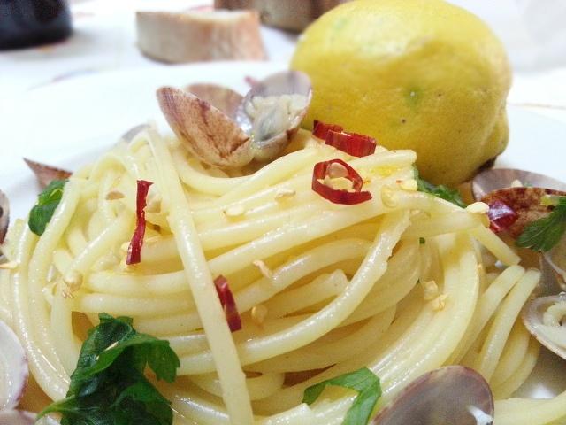 Spaghetti vongole e limone!