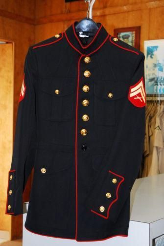 USMC Dress Blues: Militaria | eBay
