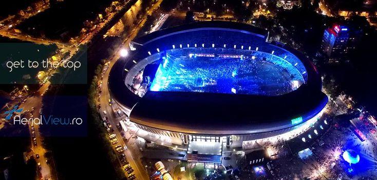170 de artisti, peste 85 de ore de muzica, peste 240.000 de persoane, un singur festival, UNTOLD! #aerialview #untold