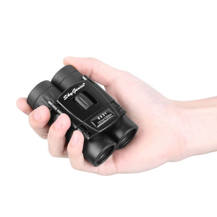 8x21 Small Compact Lightweight Binoculars For Concert Theater Opera .Mini Pocket #Skygenius