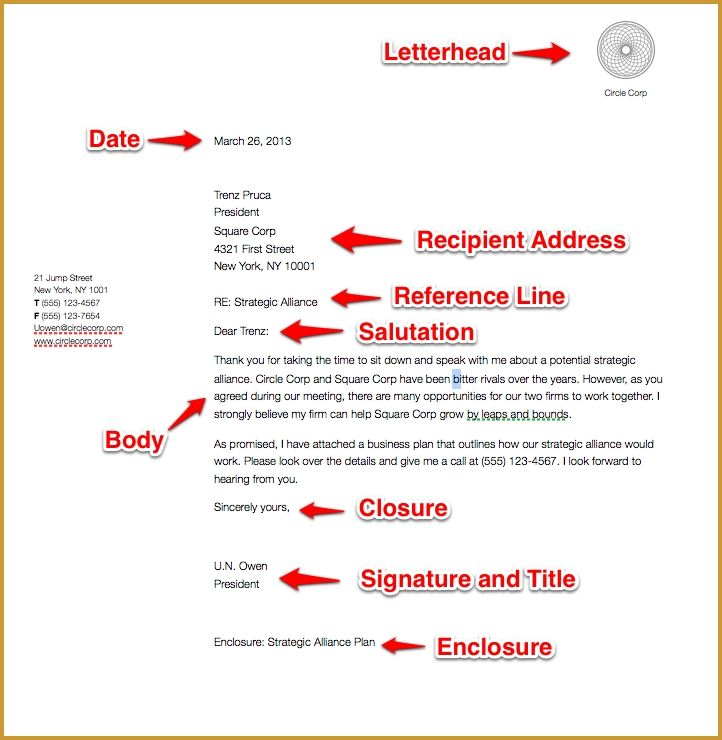 The 25+ best Business letter format ideas on Pinterest Business - sample business letter example