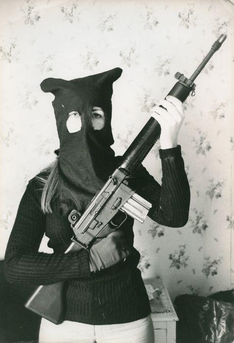 Philippe Achache (Gamma) IRA, 1973 Tirage argentique.