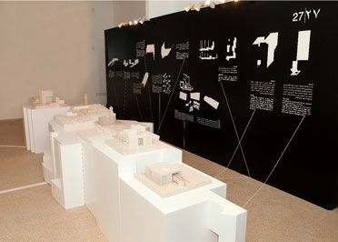 Architecture Exhibition display