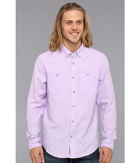 Ecko Unltd Oxford L/S Woven Purple - 6pm.com $28