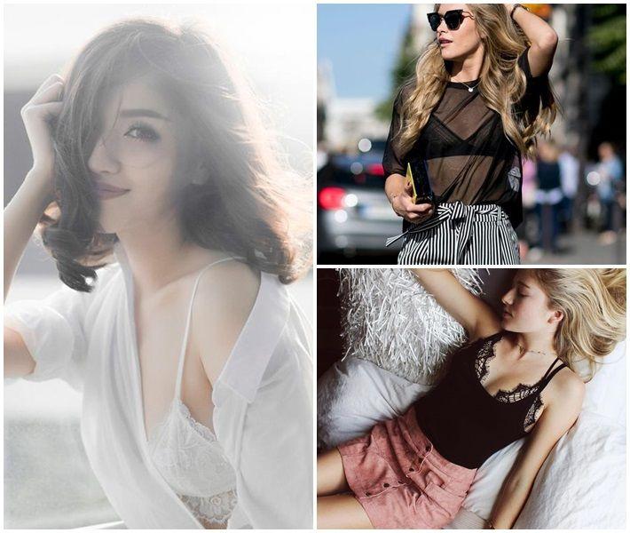 Bralette xu hướng thời trang đường phố quyến rũ - 2