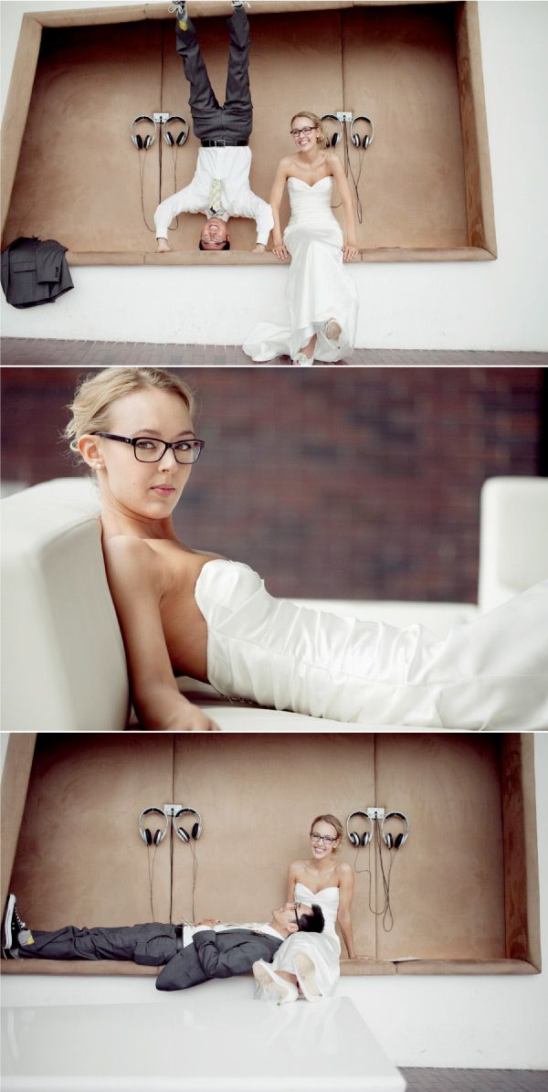 love that these wedding photos the bride is wearing her glasses!Nerdchic, Couples Glasses, Brides Wear Glasses, Pics Ideas, Fun Pics, Minneapolis Wedding, Funny Weddings, Wedding Nerd Glasses, Photography Ideas
