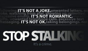 And the worse part is that you just do it cause these guys tell you to and you need the attention. Please stop stalker.