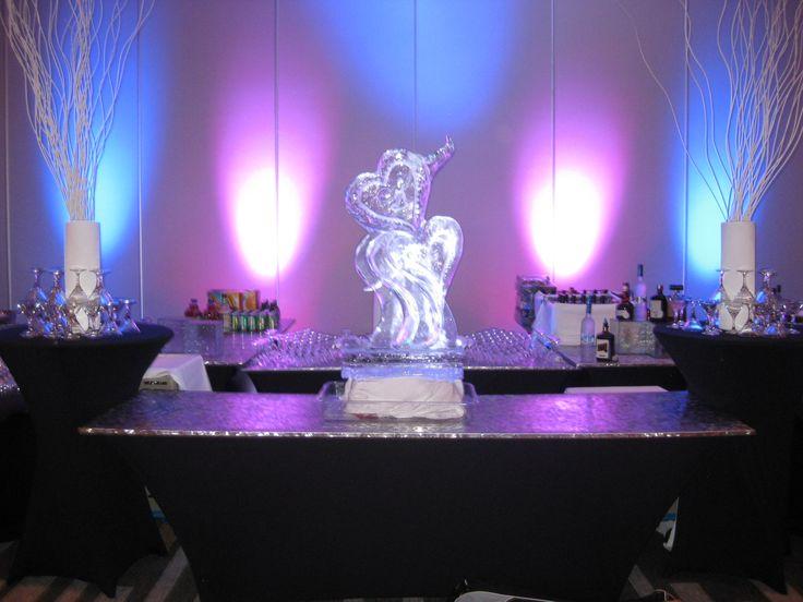 Spectacular Bar Setup at July 2013 Wedding