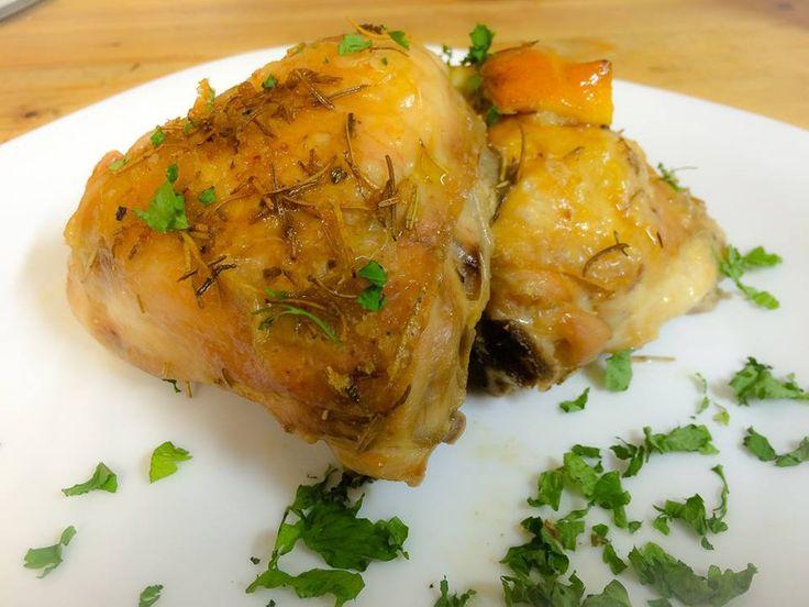 Pollo rosmarino e limone