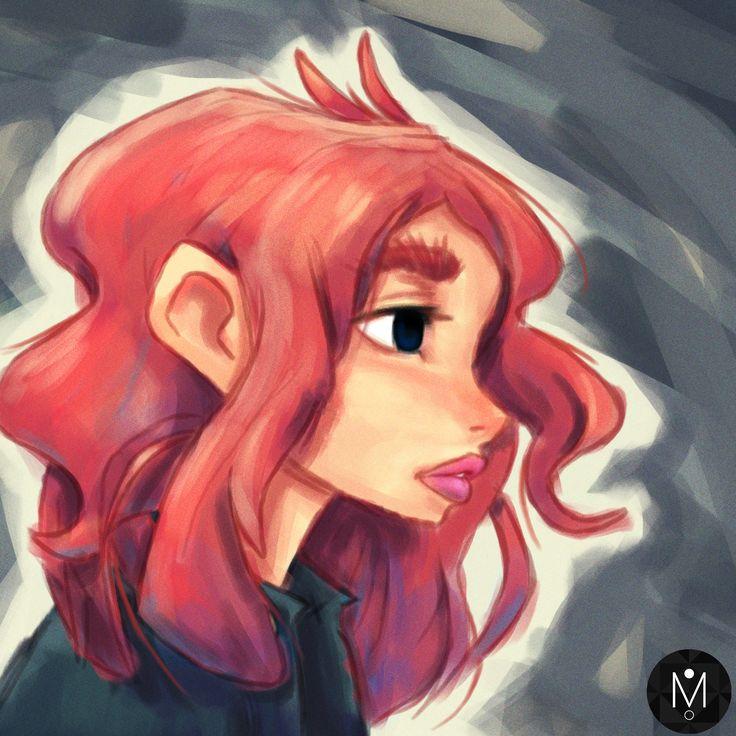 Redhead Portrait by Mason Butterwick