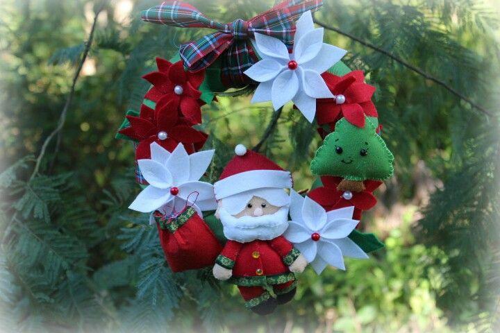 Grinalda de Natal pequena