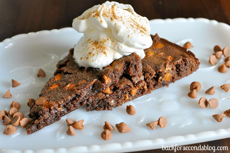 Spicy Cinnamon Fudge Brownie Pie « Back for Seconds