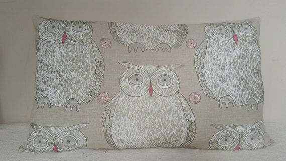 Check out this item in my Etsy shop https://www.etsy.com/listing/227902104/owl-cushion-41x67cm-blendworth-fabric