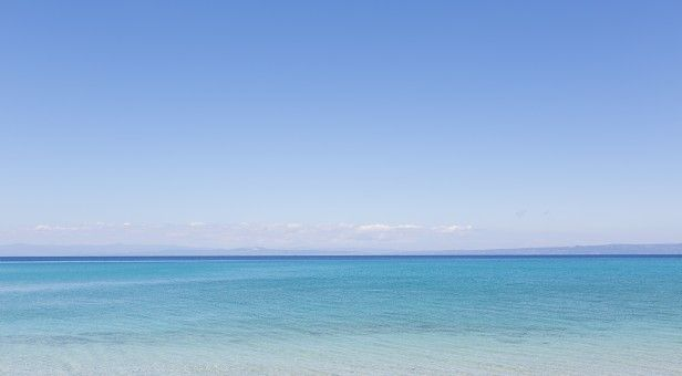 Glarokavos beach, Pefkochori, Kassandra, Halkidiki