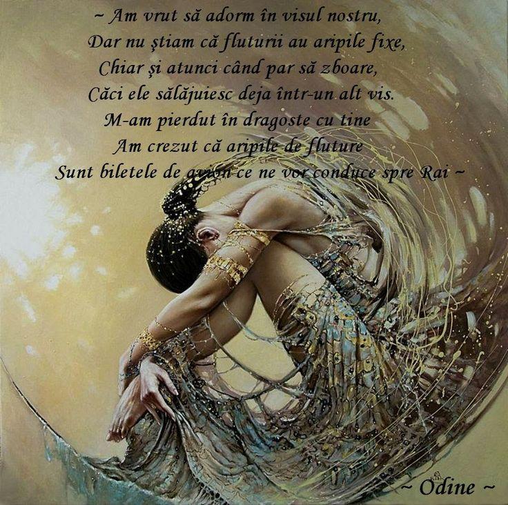 ~ Odine ~ Carte de Iubire~: ~ Tu nu ştii ~ (Poem de dragoste XIX) ~