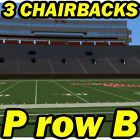 #Ticket  2ND ROW 3 CHAIRBACKS: Mississippi State @ Ole Miss Rebels Football 11/26 ProwB #deals_us