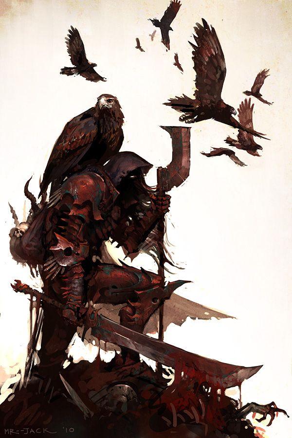 Rustborne Aquilae by *Mr--Jack on deviantART [ male, warrior ]