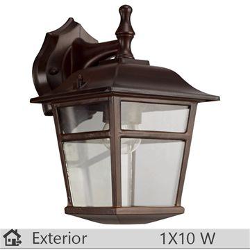 Aplica iluminat decorativ exterior Klausen, gama Colorado, model nr3 Brun