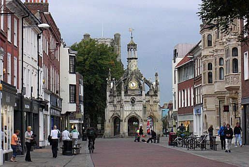 Chichester - personal first touch to England