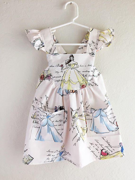 e4b4fa7e603cc Disney classic Princesses toddler dress/ girls disney dress ...