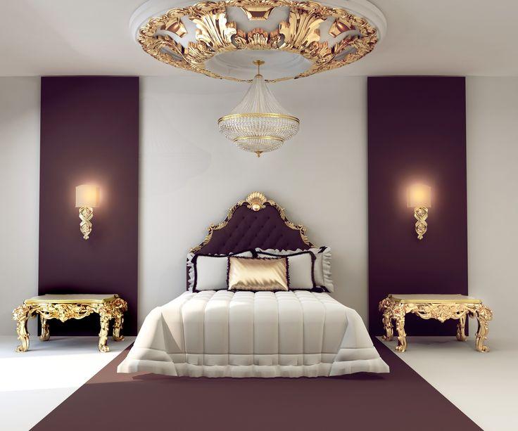 Luxeriöses Schlafzimmer   Polsterbett