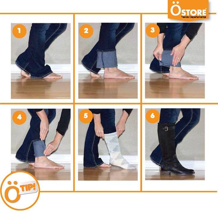 #ÖTip ¿Sabes cómo utilizar un pantalón holgado con botas ecuestres? Aquí la solución ;) #TomaNota