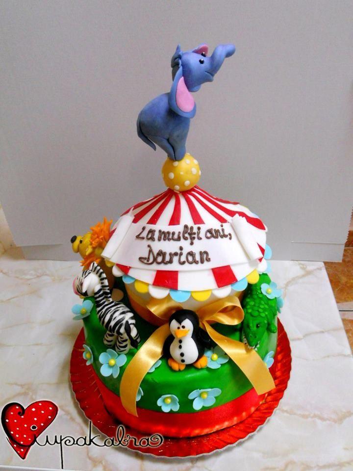 circus cake by ciupakabra