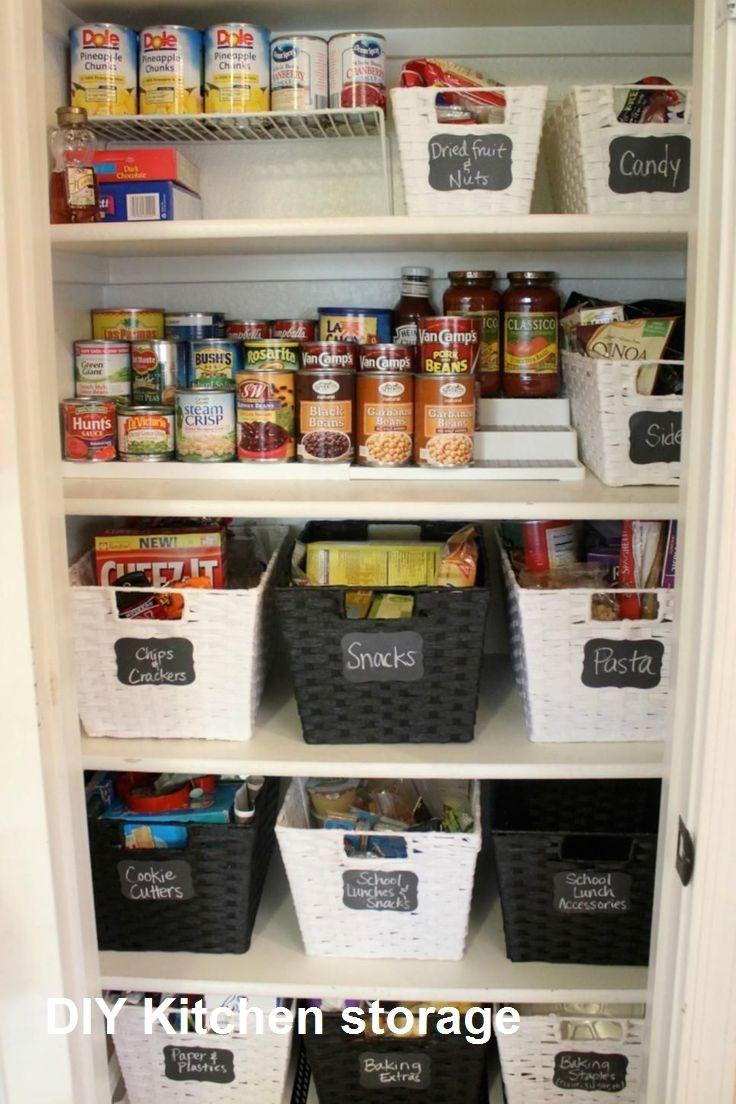 New Diy Kitchen Storage Ideas   Diy kitchen storage, Kitchen ...