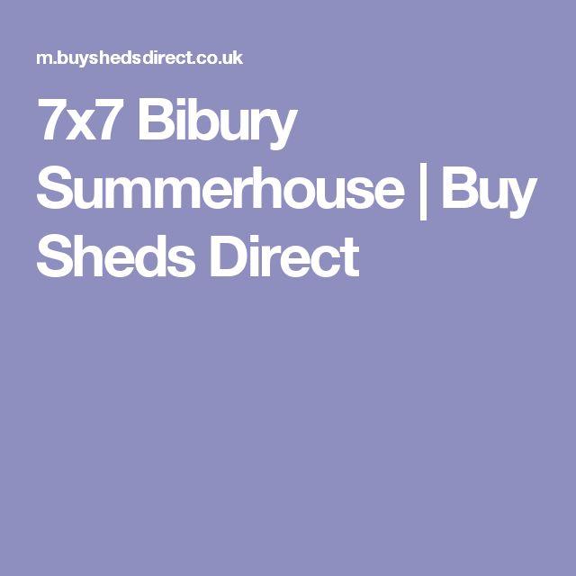 7x7 Bibury Summerhouse   Buy Sheds Direct