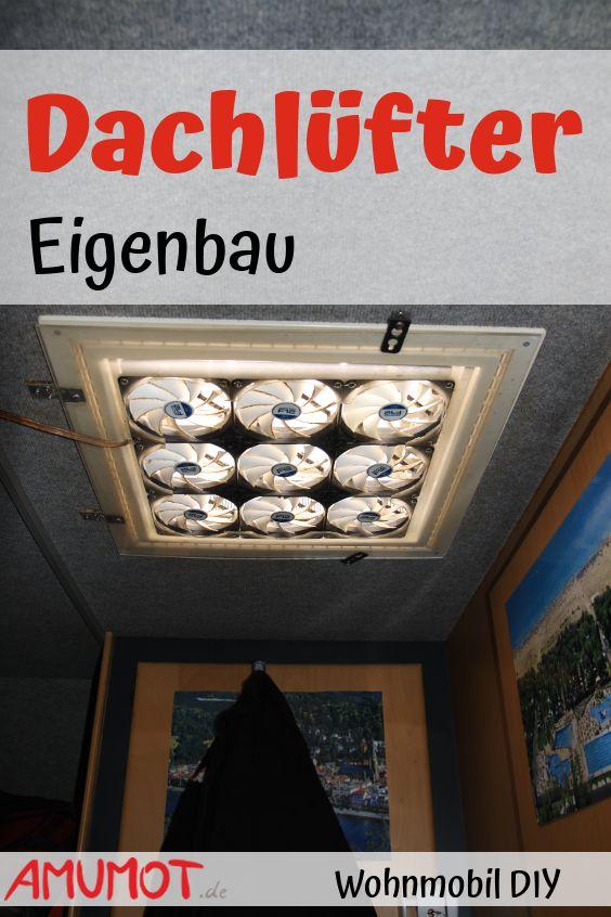 Statt einer lauten Klimaanlage im Wohnmobil, habe ich mir mit einem äußerst effektiven selbstgebauten Dachluken Ventilator beholfen. Der Luftdurchsatz ist perfekt und die Ventilatoren lassen sich in der Drehzahl regeln. Dazu verbraucht dieser Ventilator äußerst wenig Strom und kann überall eingesetzt werden.