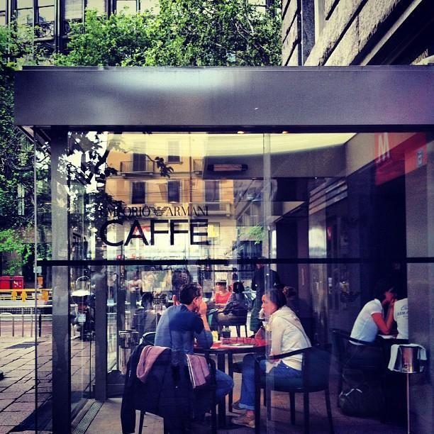Emporio Armani Caffè - Probably the best café in #Milan