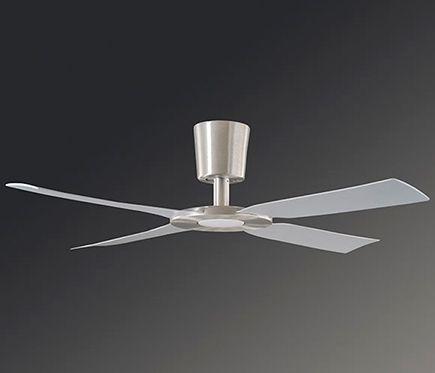 Ventilador de techo con luz LED Sulion Fiera 132 cm Marrón