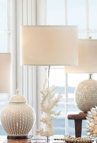 175 best lighting images on pinterest beach homes beach houses table lamps for the beach house aloadofball Choice Image