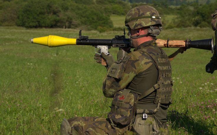 RPG-7 shooting/ střelba z rpg-7