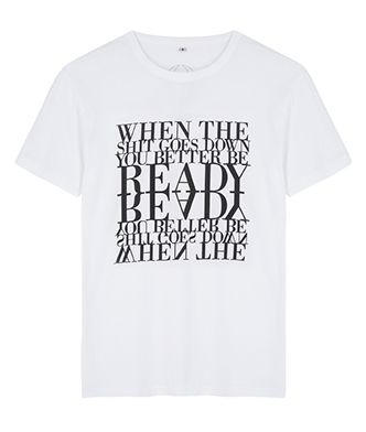 When The Shit Goes Down You Better Be Ready Unisex T-Shirt