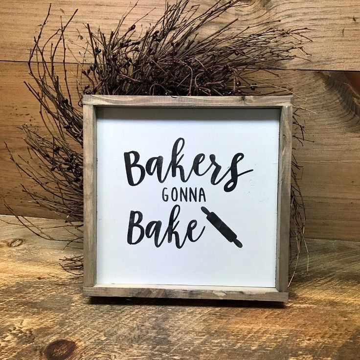 Rustic Kitchen Signs: Best 25+ Bakery Sign Ideas On Pinterest
