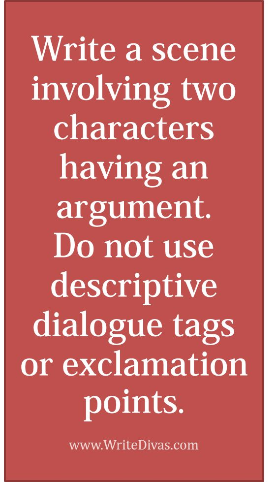 Writing Effective Dialogue