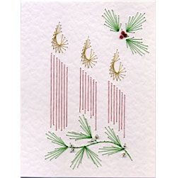 PinBroidery Stitching Cards Candles Mini