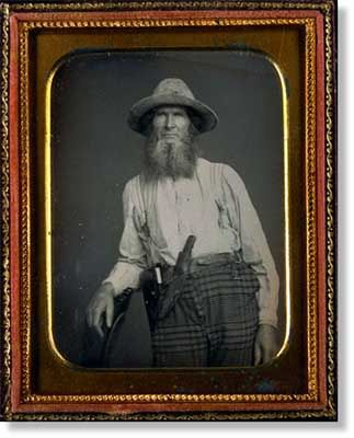California Forty-Niner, Quarter plate daguerreotype