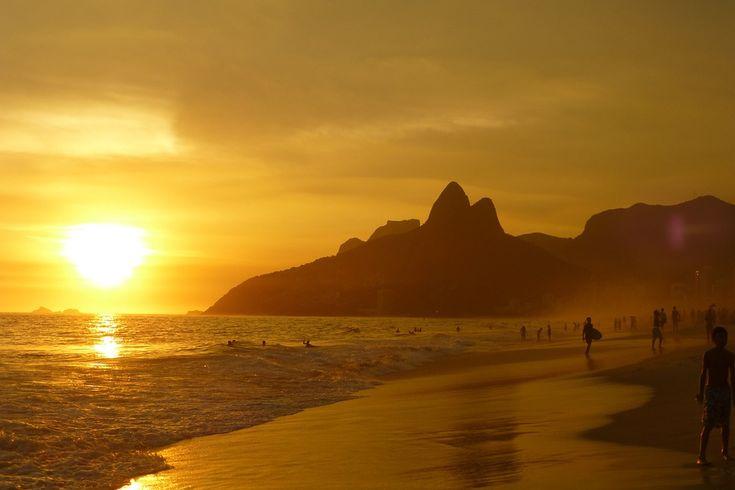 Ipanema Beach, Rio de Janeiro, Brasilien #Brasil #Brasilien #Ipanema #Beach #Strand #paradis #paradise #vacker #beautiful #vacation #semester #ocean #hav #Rio #de #Janeiro #RiodeJaneiro #island #ö