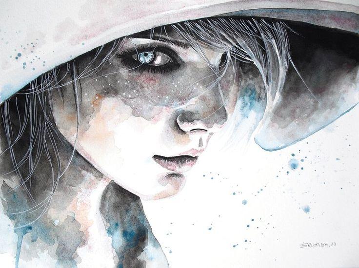 Beautiful Watercolour Illustrations by Erica Dal Maso