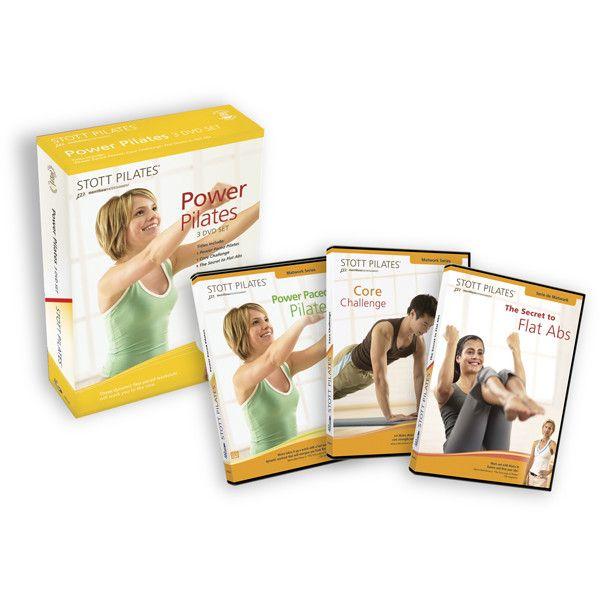 Power Paced Pilates DVD Set