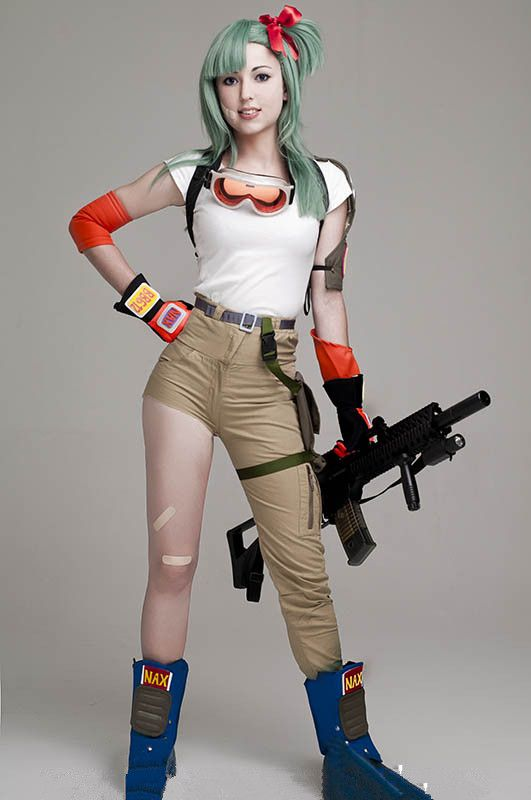 Bulma Cosplay from Dragon Ball by Virginia - Imgur - Visit now for 3D Dragon…
