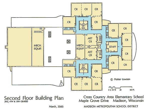 Elementary school design plans floor and site plans of for Floor design website