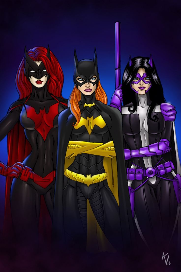 Batman Girls by Alice Falto