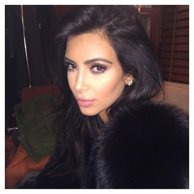 Last nights glam- @joycebonelli @jenatkinhair by kimkardashian http://ift.tt/1tRE9g5