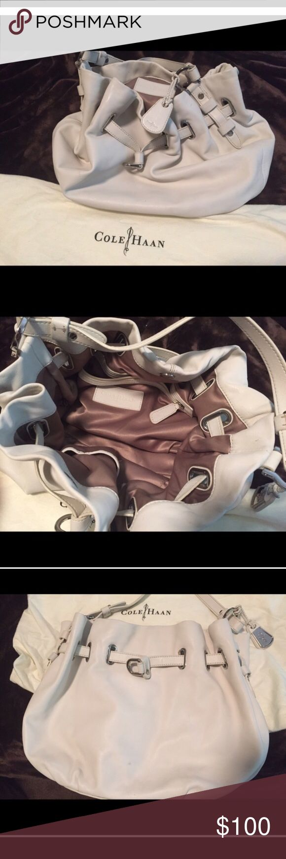 Cole Haan bag. Mint condition Cole Haan mint condition bag. Carried once. Comes with original Cole Haan storing Bag Cole Haan Bags Shoulder Bags