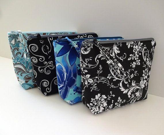 Sale Zipper Pouch Bridesmaid Gift Cosmetic Bag Makeup Bag