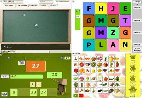Des logiciels éducatifs pour le primaire
