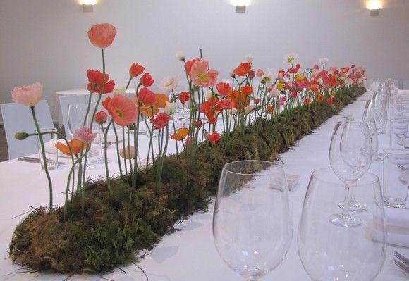Spring garden centrepiece via Flowers Vasette